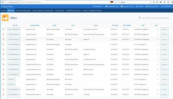 Home Page - eCargo Cloud